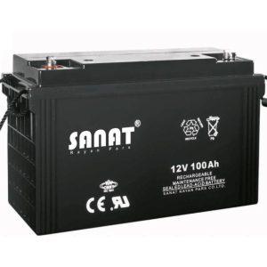 باتری صنعت 12v100Ah
