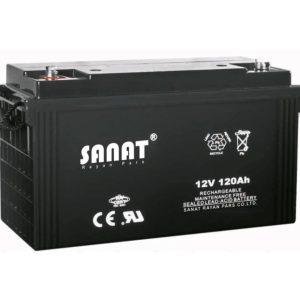 باتری صنعت 12v120Ah