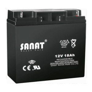 باتری صنعت 12v18Ah