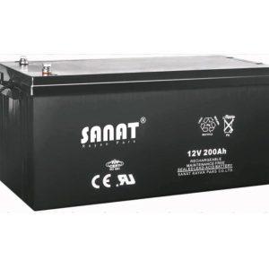 باتری صنعت 12v200Ah